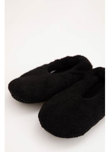 Defacto –Fit Ev Terliği Panduf Siyah